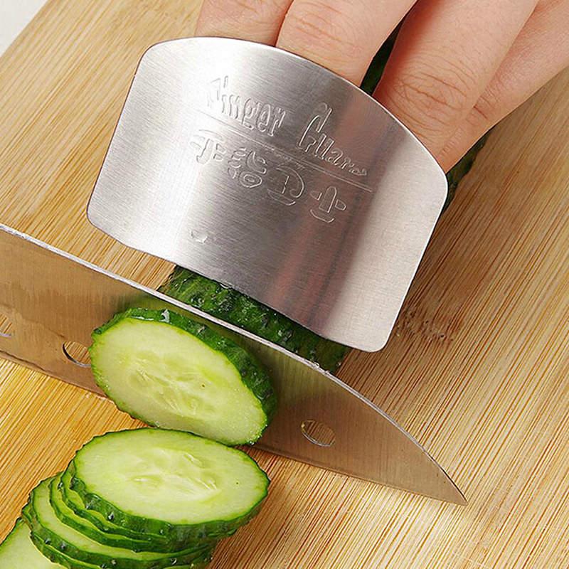 protetor de dedos para cortar alimentos