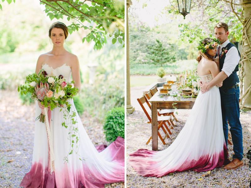 10-dip-dye-efeito-degrade-barra-vestido-de-noiva