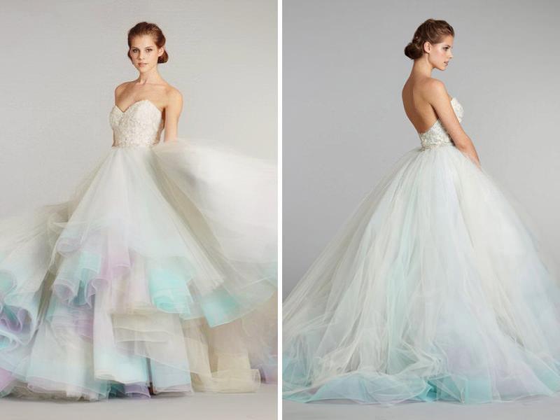 15-vestido-estilo-princesa-noiva-efeito-dip-dye-degrade-colorido