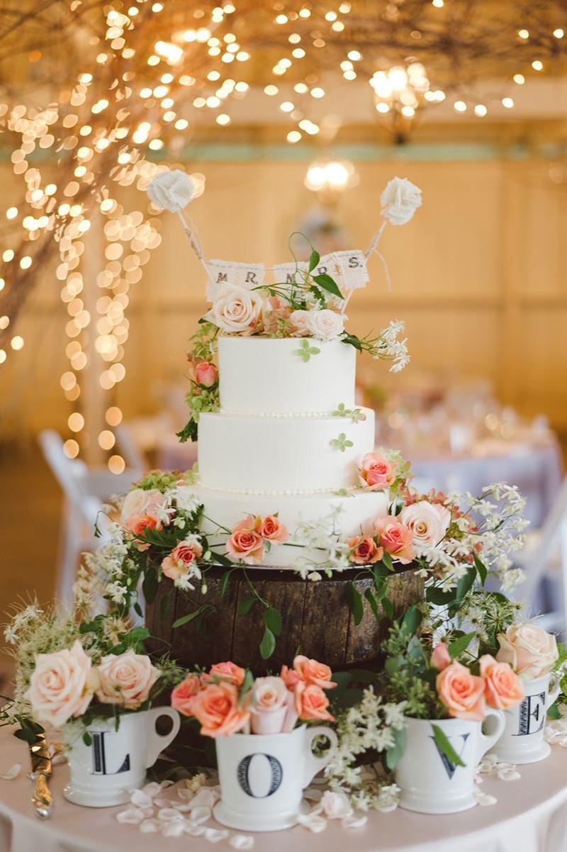 18 Mesas De Bolo De Casamento Para Você Se Inspirar Enoivado