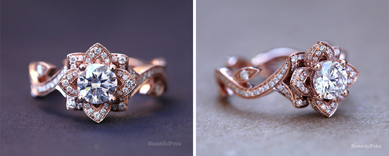 aneis-de-noivado-ouro-rose-com-coroa-de-flor-5