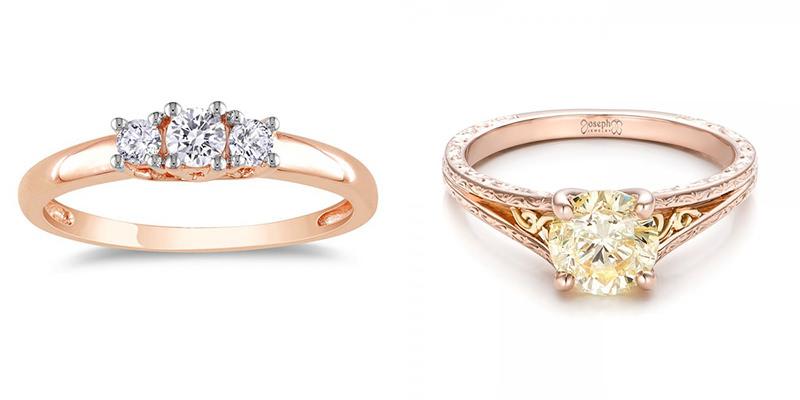 aneis-de-noivado-ouro-rose-com-diamante-e-pedra-amarela-8