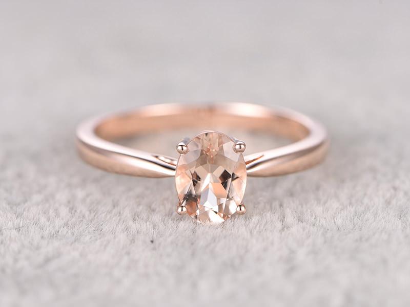 cd51f9ebcae874 23 anéis de noivado com ouro rosê para derreter seu coração - eNoivado