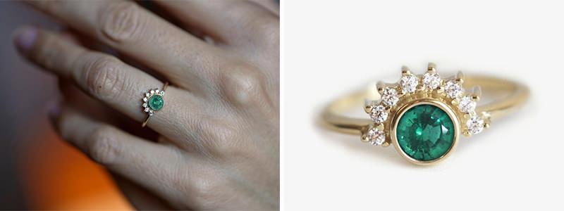 anel-esmeralda-para-noivas-ousadas