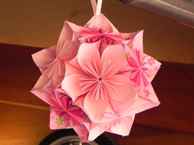 Conhecido 28 ideias fofas de decoração de casamento com origami - eNoivado MA72