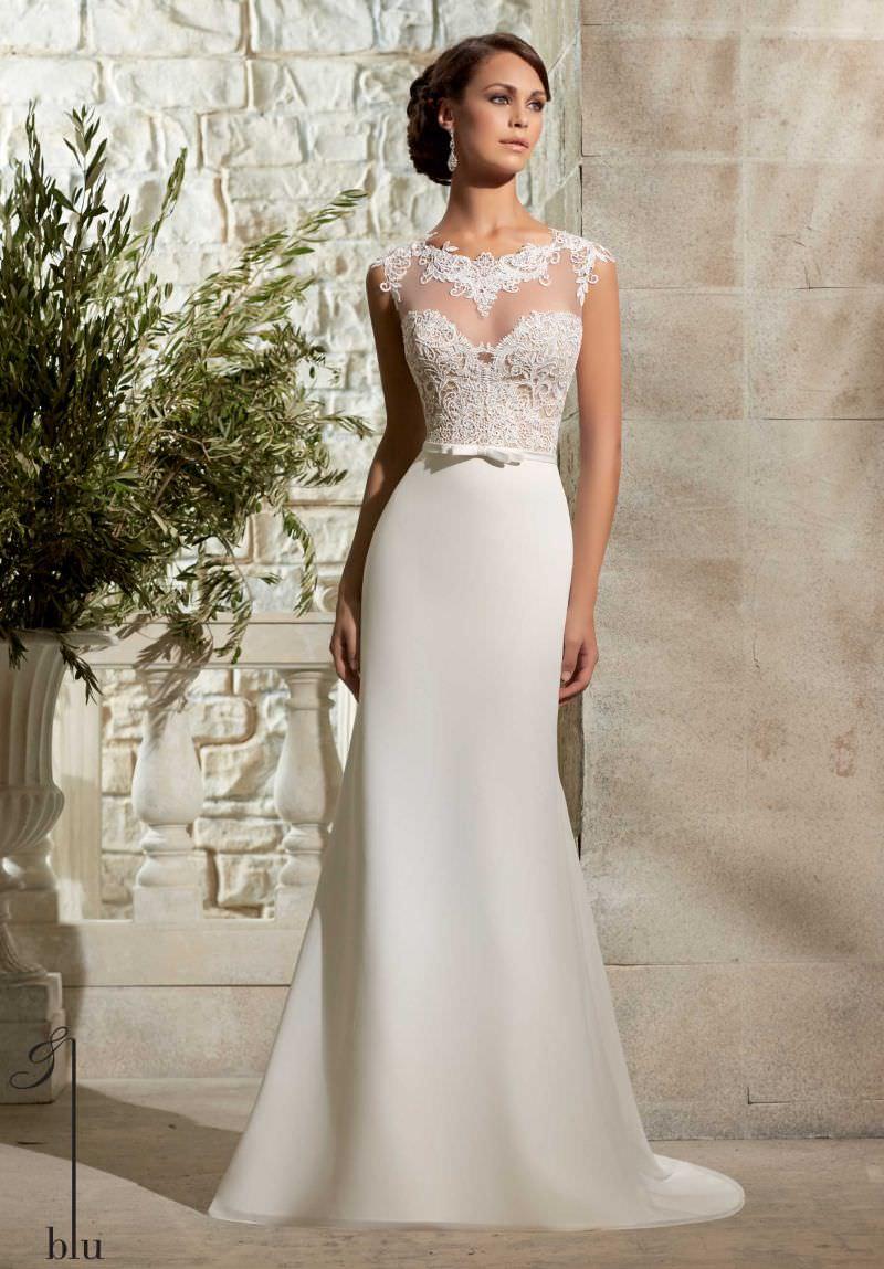 vestidos-de-noiva-simples-com-cinto-de-laço-4