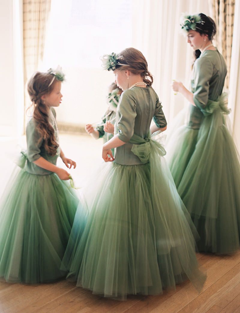 dama-de-honra-casamento-greenery