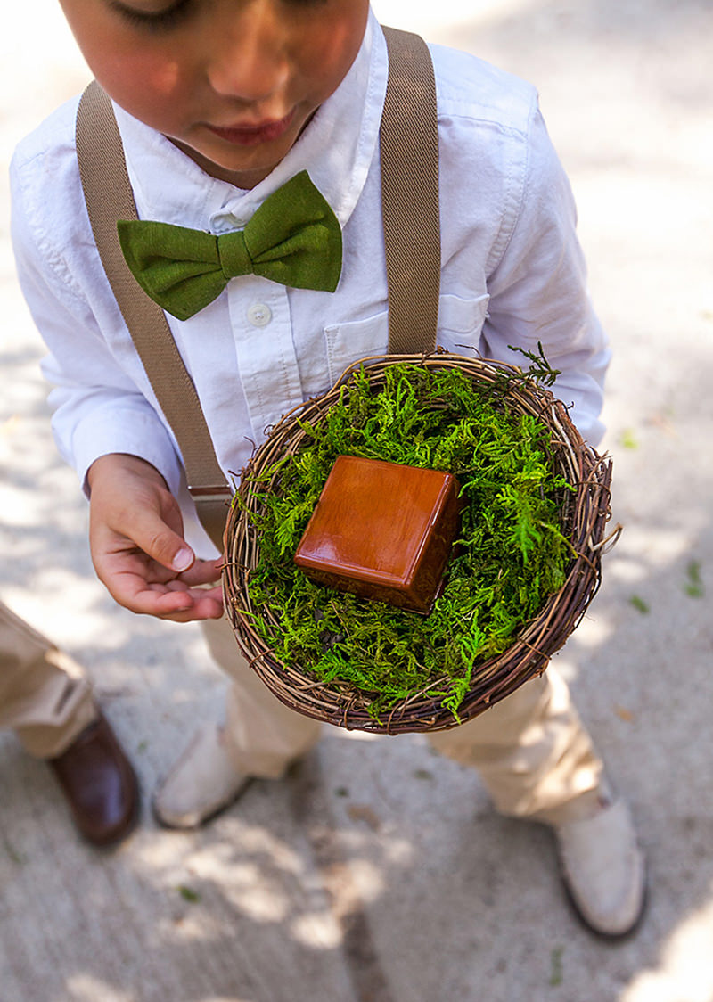 dama-de-honra-e-pajem-casamento-greenery