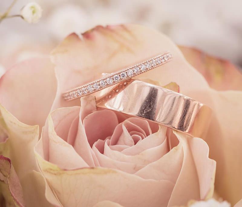 foto-de-casamento-alianca-ouro-rose