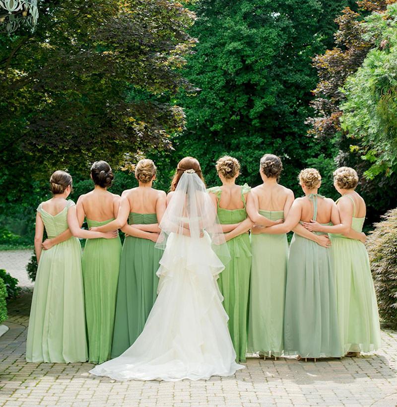 madrinhas-casamento-greenery