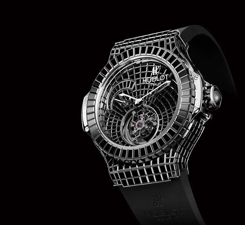 Relógio Hublot Black Caviar Bang s