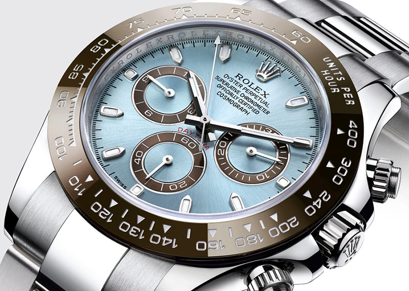 Rolex Cosmograph Daytona - platina - 75 mil dolares