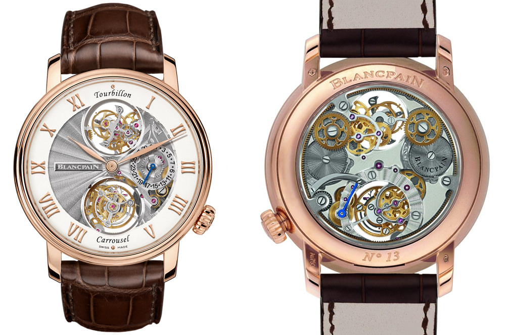 Relógio Blancpain Le Brassus Tourbillon Carrousel