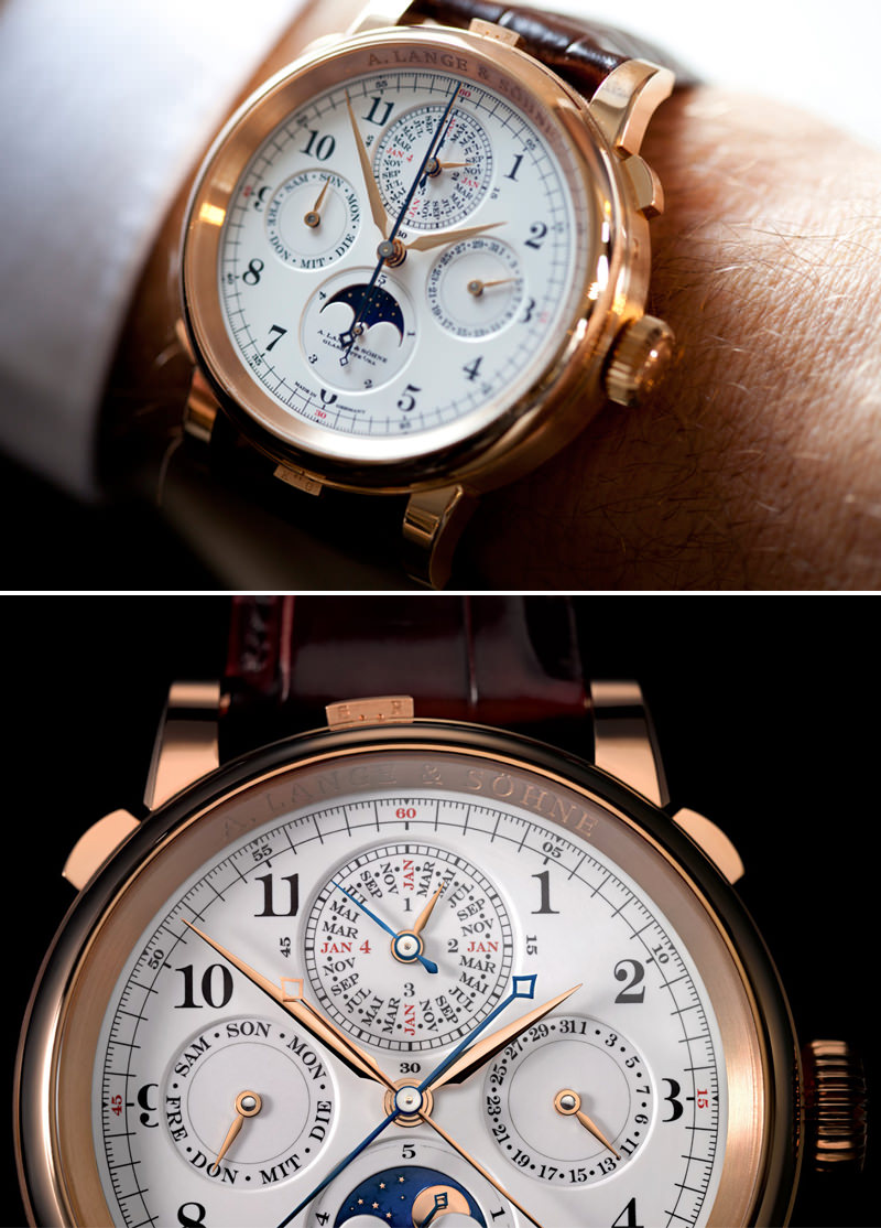 Relógio A. Lange & Söhne Grand Complication