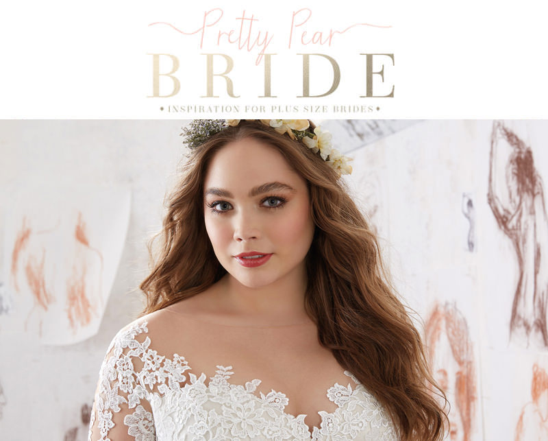 blog pretty pear bride- plus size