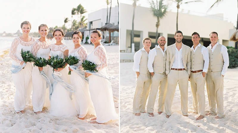 casamento-praia-madrinhas-padrinhas-mesmo-look