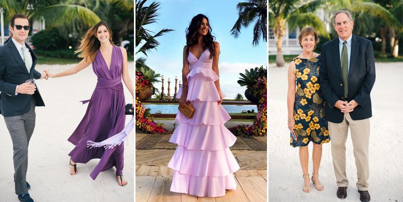 f8d6b37b57de O que vestir em um casamento na praia? - eNoivado