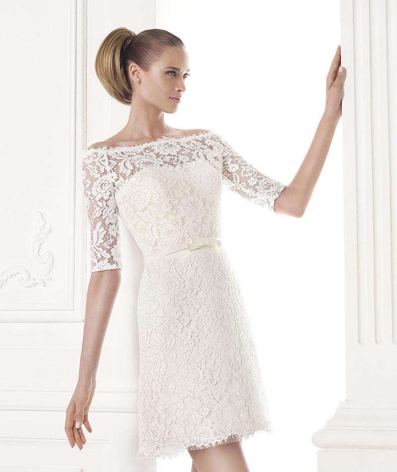 vestido-de-noiva-curto-manga