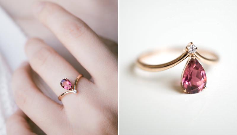 anel-de-noivado-turmalina-rosa