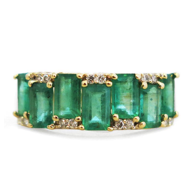 anel-de-noivado-deslumbrante-esmeralda