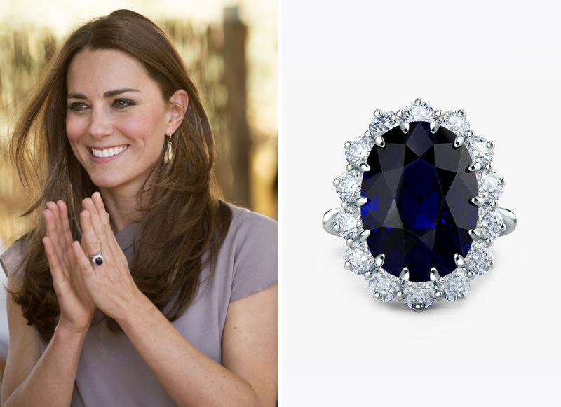 princesa-Kate-anel-de-noivado-safira