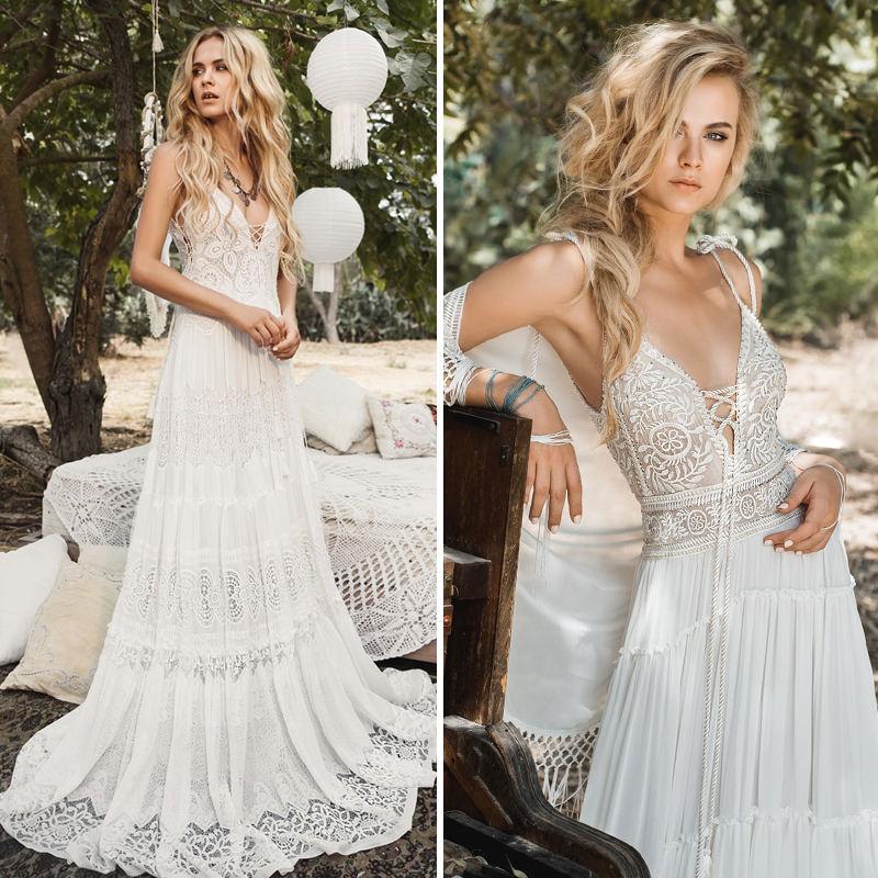 Preferência 31 ideias de vestido de noiva para casamento na praia - eNoivado BD71