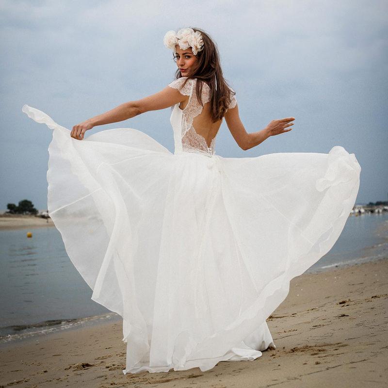 31 Ideias De Vestido De Noiva Para Casamento Na Praia Enoivado