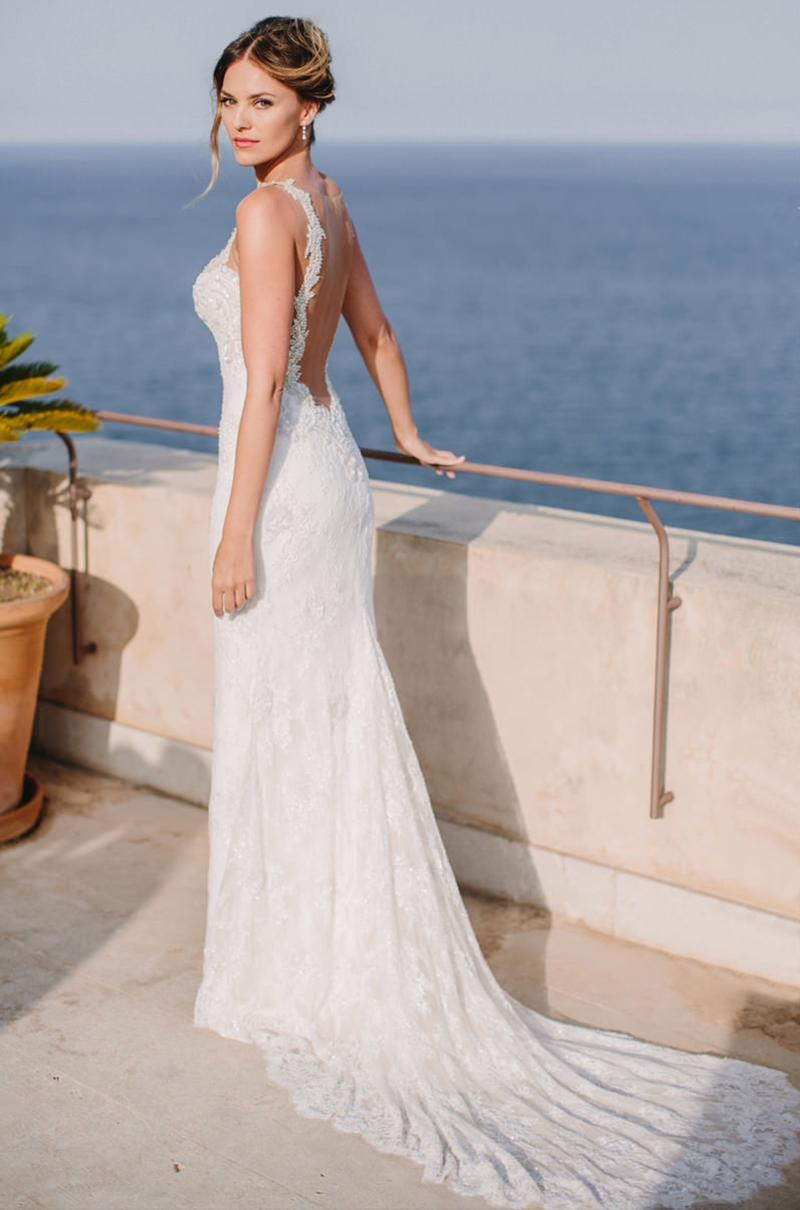 Muitas vezes 31 ideias de vestido de noiva para casamento na praia - eNoivado IV07