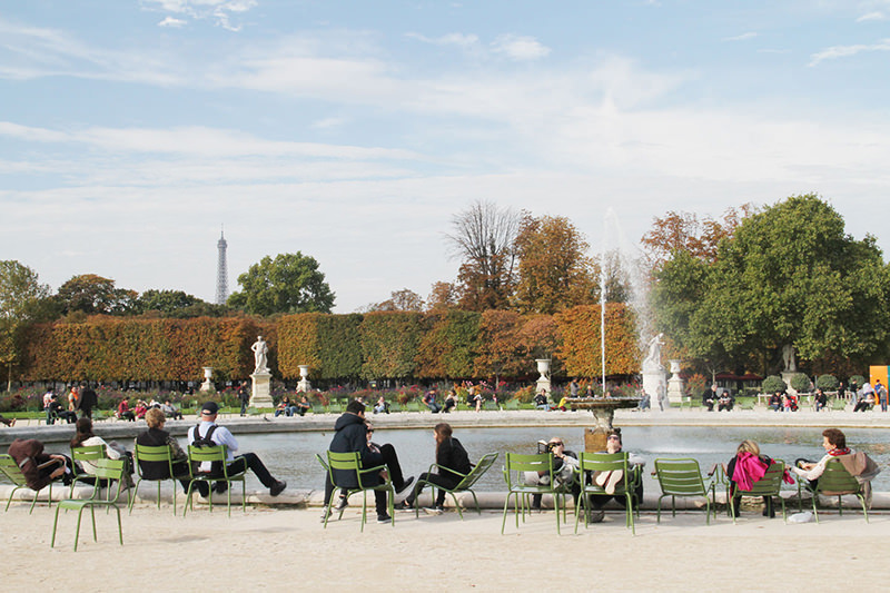 jardin des tuileries-franca-viagem-lua-de-mel-inesquecivel