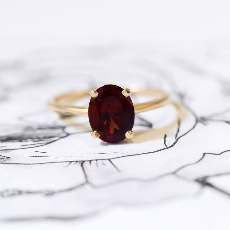 anel-solitario-ouro-amarelo-e-rubi
