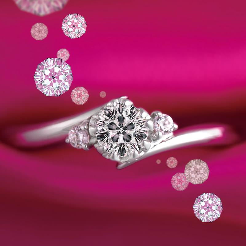 anes-de-noivado-com-diamante-em-formato-de--flor-de-cerejeira