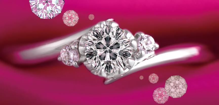capa-aneis-de-noivado-com-diamante-em-formato-de--flor-de-cerejeira