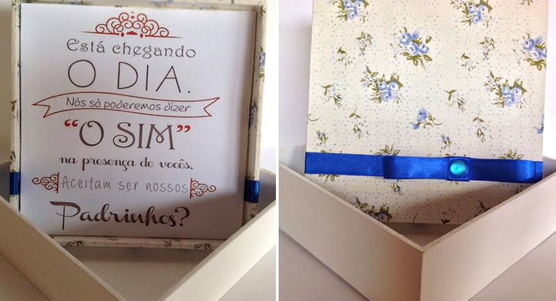 15 Ideias De Convites Criativos Para Padrinhos De Casamento Enoivado