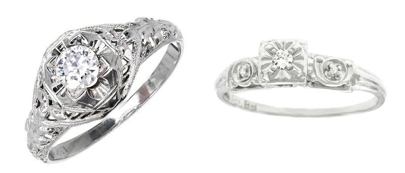 5446362a5f0a9 Veja como os anéis de noivado mudaram ao longo de 100 anos de ...
