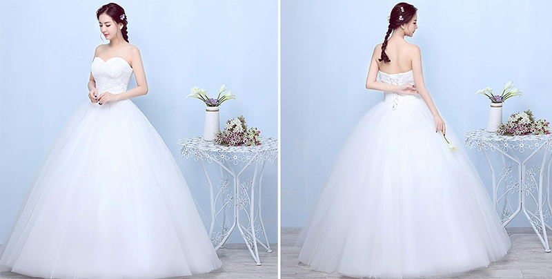 vestido-de-tule-noiva-com-vestido-formato-bolo