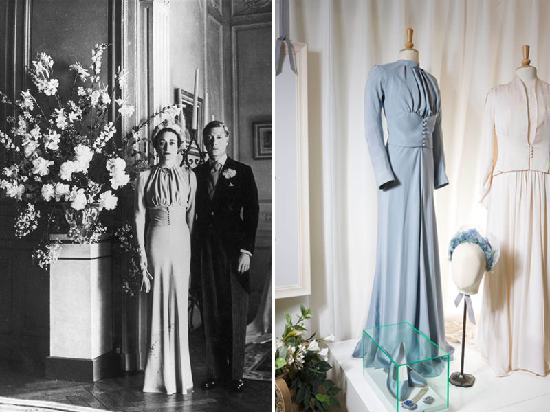 05-vestido-de-noiva-azul-da-princesa-Wallis-Simpson