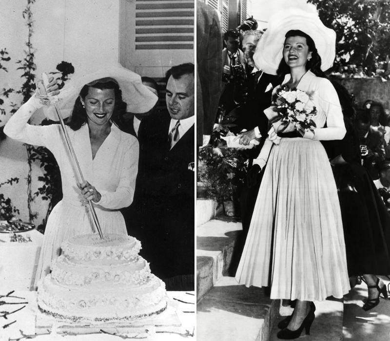 08-Rita-Hayworth-com-vestido-de-noiva-e-chapeu