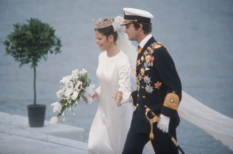 casamento-da-rainha-Silvia-vestido-de-noiva-da-realeza-