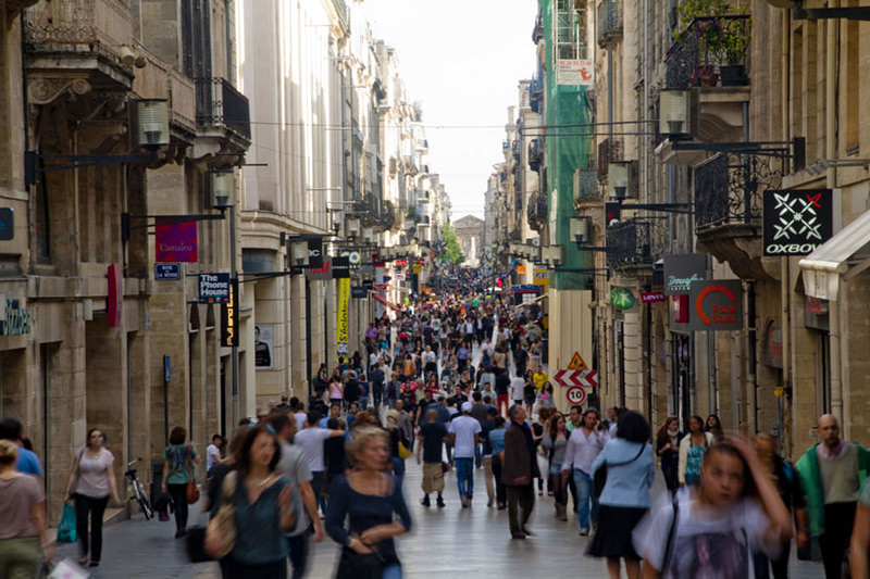 rue-st-catherine-rua-de-comercio-bordeaux-franca