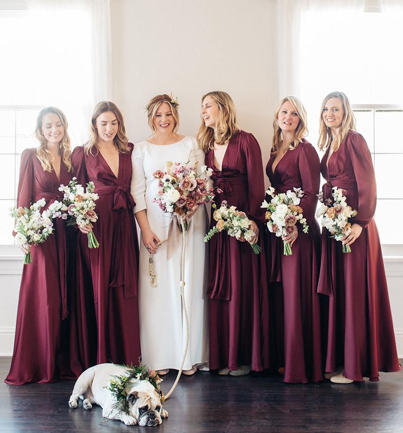 madrinhas-de-casamento-com-vestido-de-manga-comprida