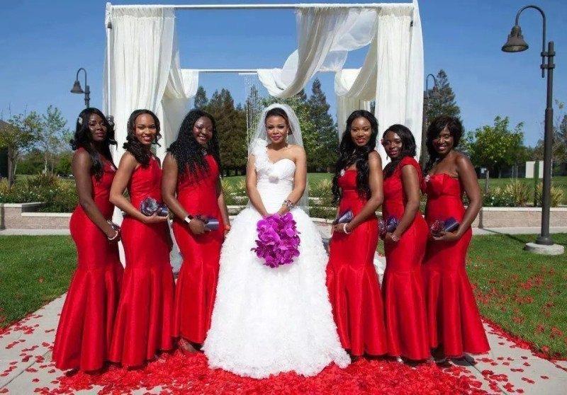 vestidos-de-madrinha-de-casamento-vermelhos