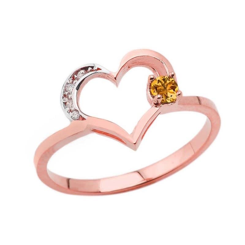 anel-de-noivado-com-detalhes-em-citrino-e-diamantes-ao-redor-do-coracao