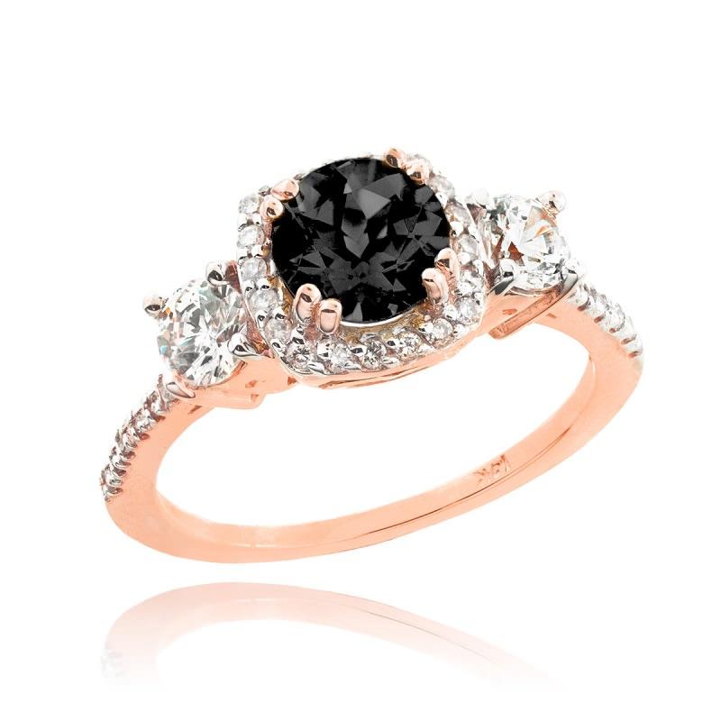 anel-de-noivado-ouro-rose-e-diamantes-preto-e-branco