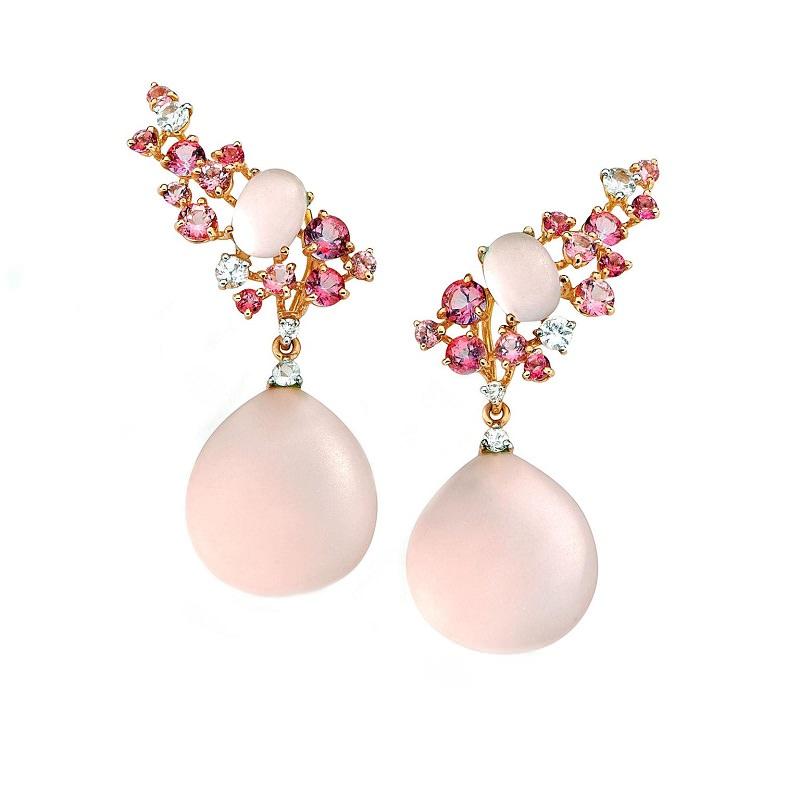 """brinco-de-quartzo-rosa-para-o-grande-dia"""""""