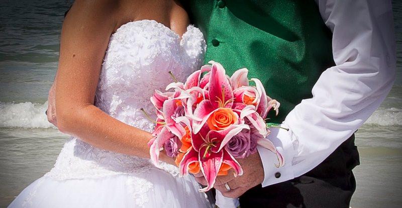 buque-de-lirios-flores-cor-de-rosa