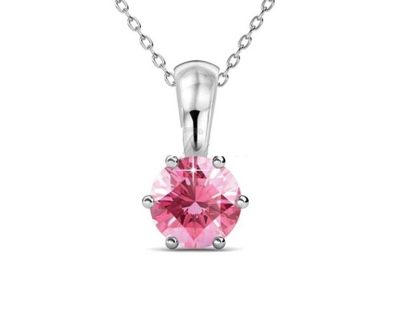 joia-de-casamento-rosa-corrente-pingente