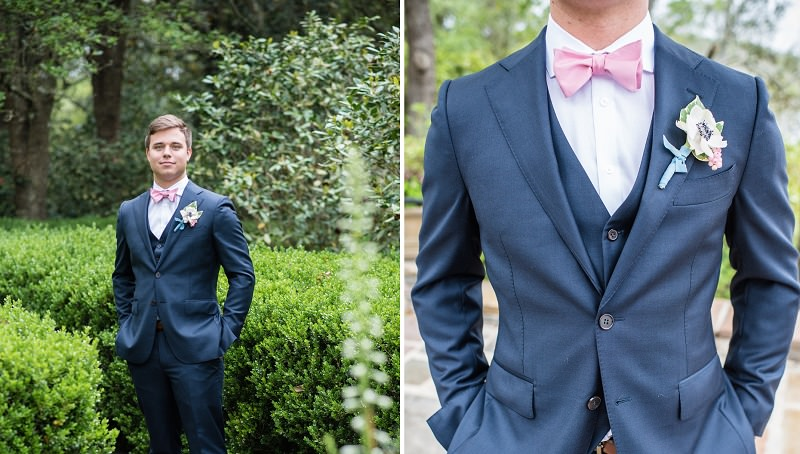ideias-de-acessorios-para-noivo-usar-casamento-acessorios-masculinos-gravata-borboleta-rosa