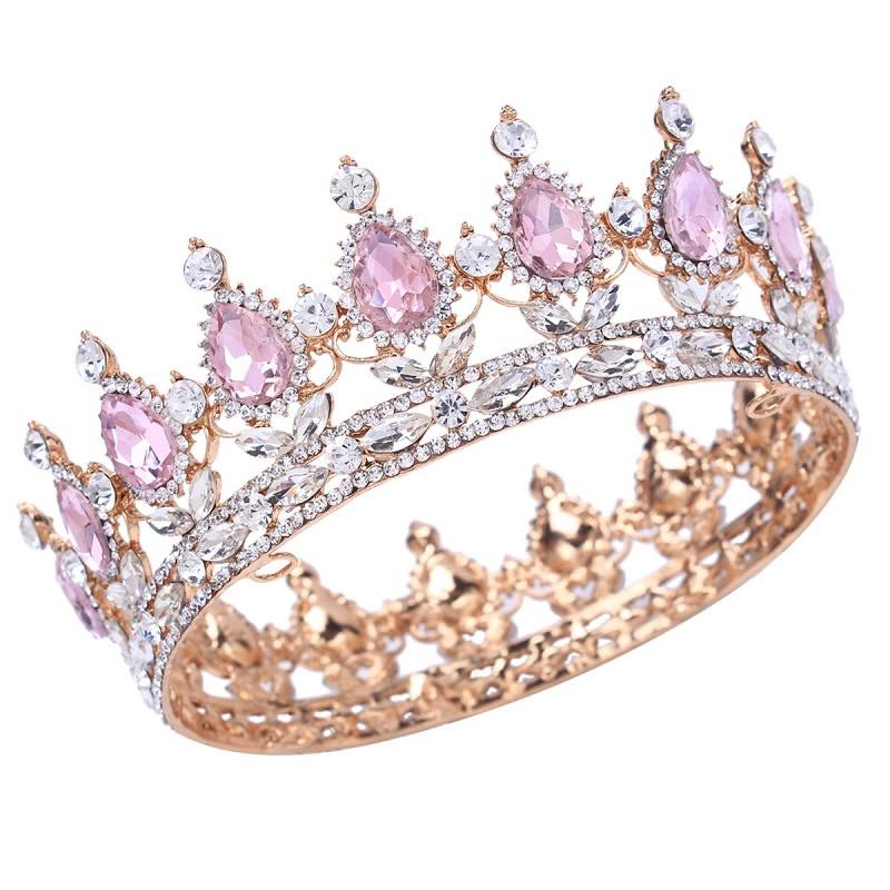"""coroa-de-casamento-rosa-para-rainhas"""""""