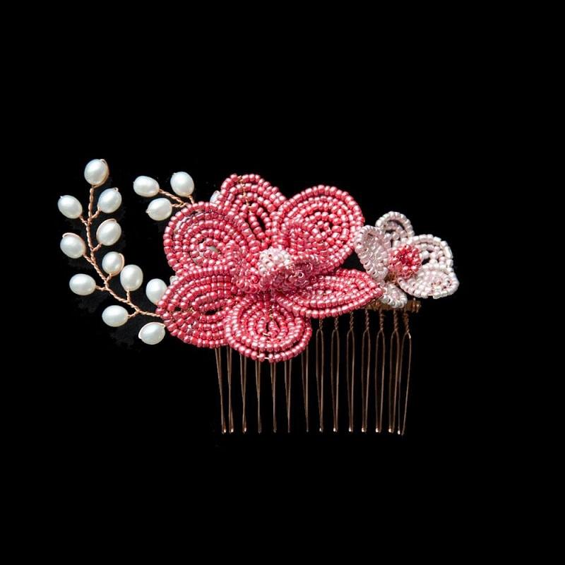 acessorio-de-cabelo-pente-casamento-rosa-com-flores