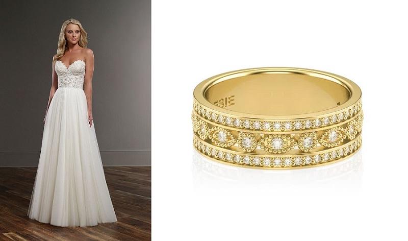 2-vestido-delicado-com-detalhes-bordados-e-alianca-de-ouro-com-diamantes-versailes